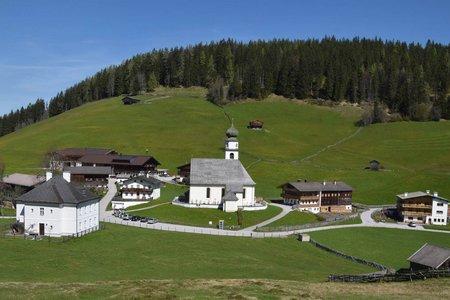 Von Kundl über Saulueg nach Thierbach