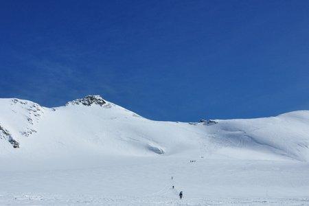 Monte Cevedale (3769 m) von der Zufallhütte