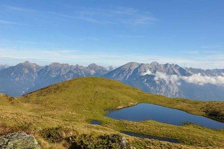 Salfeins-Schaflegerkogel Rundtour (2000/2405 m) aus dem Senderstal