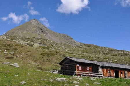 Weisses Beil (2766 m) von der Jagastube