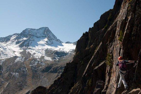 Klettersteige und leichter Fels in den Ostalpen