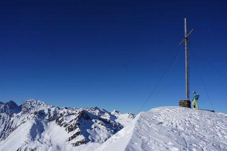 Hochkreuzspitze (2739m) von der Talschlusshütte