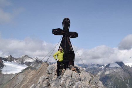 Vordere Kendlspitze (3085m) von Glanz