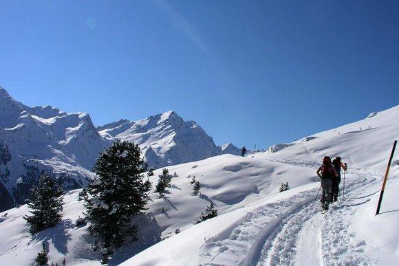 Lüsenstal / Praxmar – Skitourendestination der Extraklasse