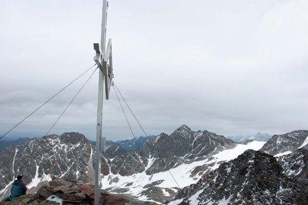 Kraspesspitze (2954 m) von der Schweinfurter Hütte