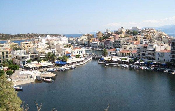 Voulismeni-See in Nikolaos