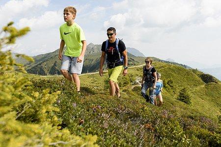 Sommerurlaub mit Familie in Gastein