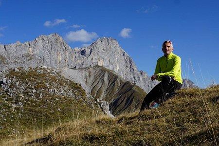 Rossberg (2096m) aus dem Gaistal