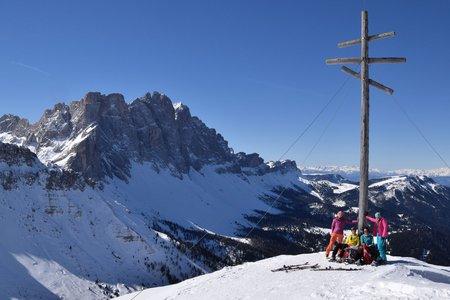 Zendleser Kofel (2422 m) von der Zanseralm