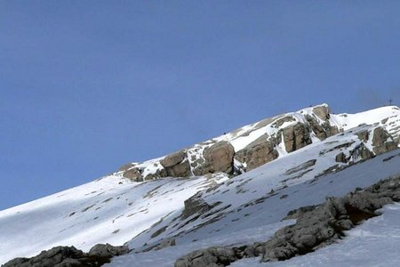 Dürrenstein (2839 m) von der Plätzwiese