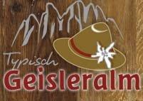Logo Geisleralm, 1996 m - Villnösstal