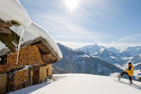 Schneeschuhwandern - leichtfüßig durch den Schnee im Alpbachtal