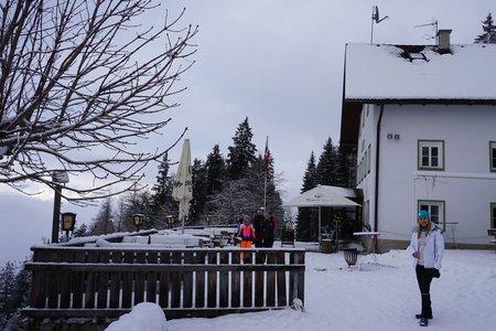 Alpengasthaus Heiligwasser von der Bob- und Rodelbahn Igls