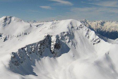 Wetterkreuzkogel (2591 m) aus dem Nedertal