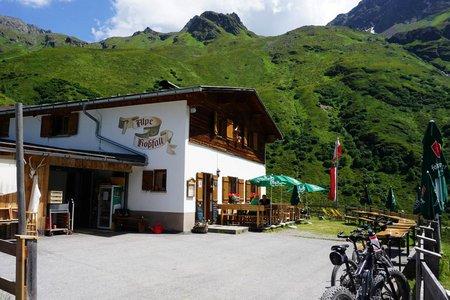 Rossfall-Alpe von St. Anton