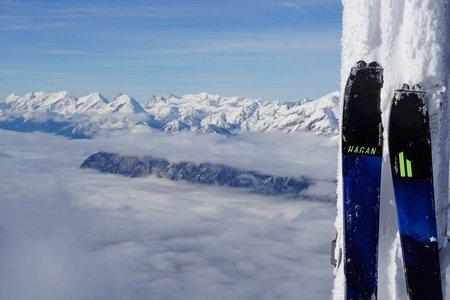 Patscherkofel (2248 m) von der Mittelstation der Patscherkofelbahn