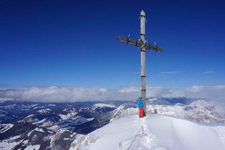 Zehnerspitze (3026 m) von der Lavarellahütte