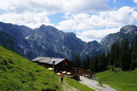 Bärenbadalm (1457m) von der Karwendel-Bergbahn