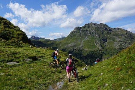 Tilliacher Joch & Porzehütte von Obertilliach