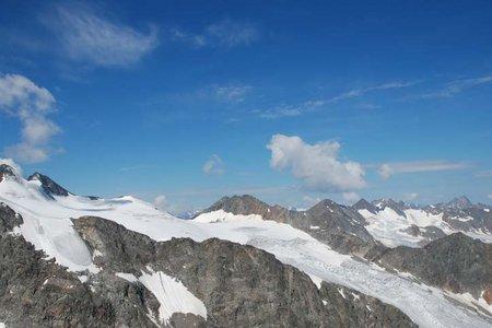 Aperer Freiger (3262 m) vom Parkplatz Sulzenauhütte