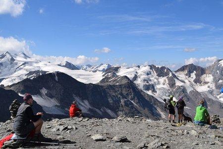 Hintere Schöntaufspitze (3225 m) von der Zufallhütte