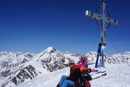 Hinterer Daunkopf (3225 m) von der Amberger Hütte