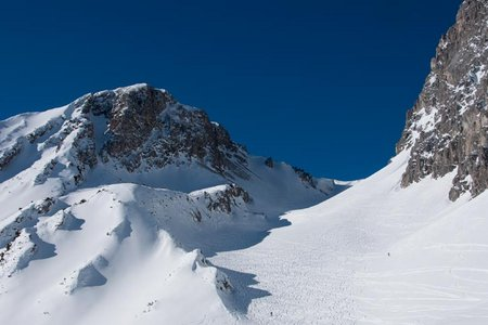 Höllkopf (2194 m) vom Gasthof Arzkasten