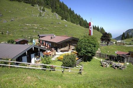 Kranzhornalm, 1230 m - Erl