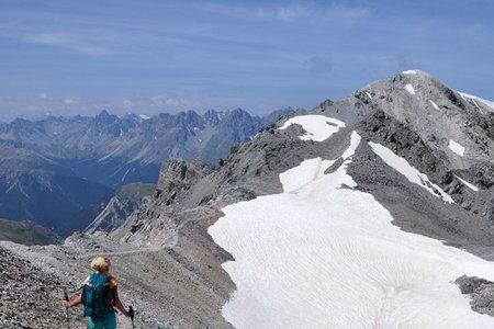 3-Gipfel Rundtour (Schadler, Piz Rims, Piz Cristanas) von der Sesvennahütte