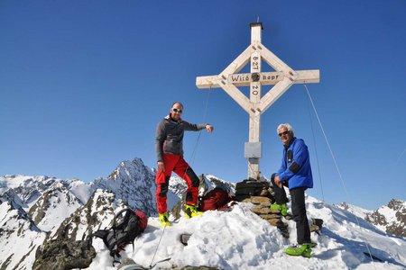 Wildkopf (2719 m) vom Alpengasthof Bergheim Fotsch