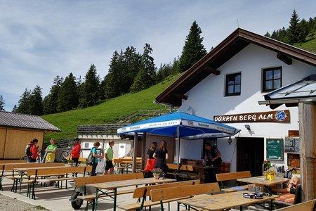 Dürrenberg Alm (1438 m) von Breitenwang