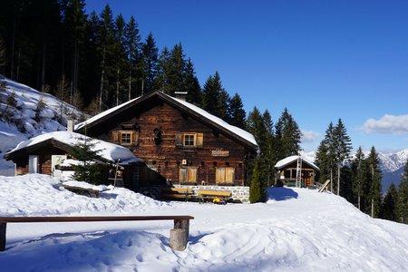Götzner Alm - Winterwanderweg von der Muttereralmbahn