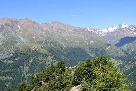 Mittagskopf (2405 m) vom Almhotel Glieshof