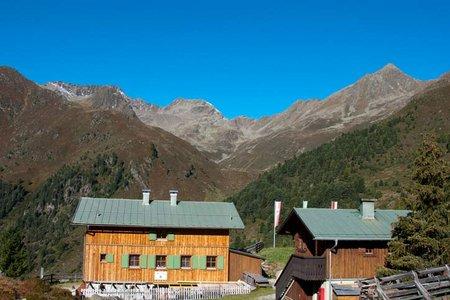 Schweinfurter Hütte, 2028 m - Niederthai