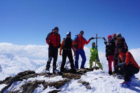 Falbanairspitze (3199m) über Maseben