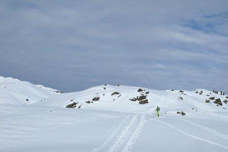 Niederjochkogel (2146 m) aus dem Langen Grund