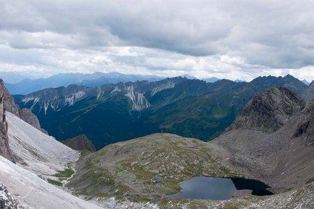 Pflerscher Pinggl (2767 m) vom Gasthof Feuerstein
