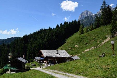 Mussbachalm & Aueralm Rundwanderung bei Hinterthal