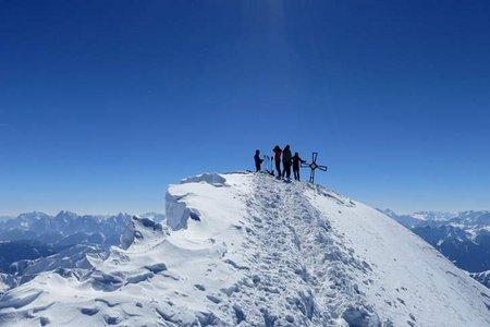 Schneebiger Nock (3358 m) von Rein/Taufers