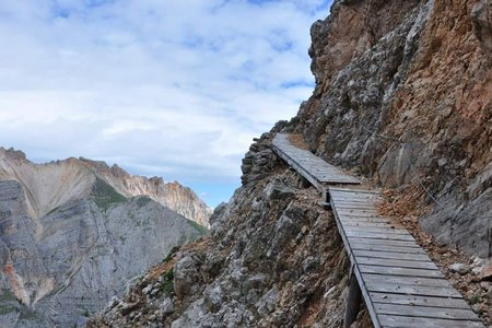Vallon Bianco (2684 m) von der Lavarellahütte