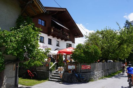 Gasthaus Arzkasten vom Badesee Mieming