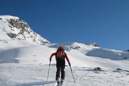 Kreuzspitze (2746 m) von Oberellbögen
