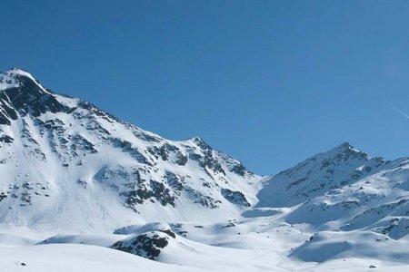 Kübelgrubenkopf (2870 m) vom Skigebiet See
