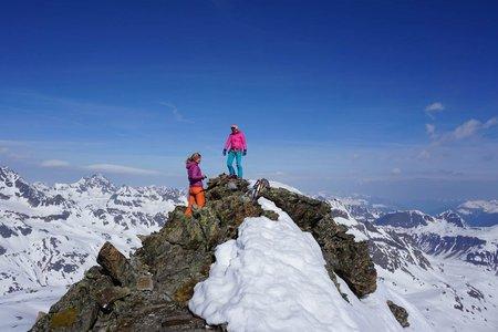 Haagspitze (3029m) von der Jamtalhütte