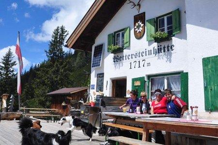 Wettersteinhütte von Weidach/Leutasch
