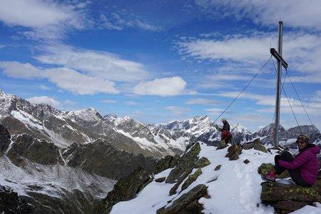 Zielspitze (3006 m) vom Giggelberg/Texelbahn