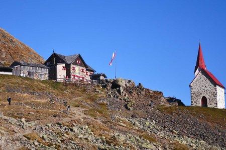 Schutzhaus Latzfonser Kreuz (2305 m) vom Kasereck