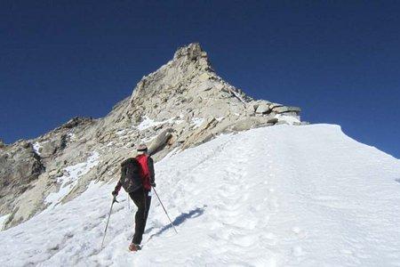 Olperer (3476 m) vom Schlegeisspeicher