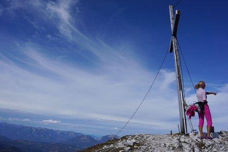 Brunnsteinspitze (2180m) von Scharnitz