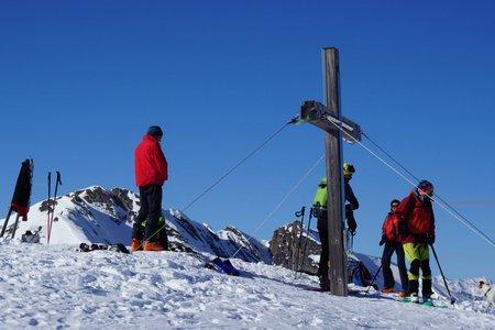 Scheibenspitze (2489m) von Navis